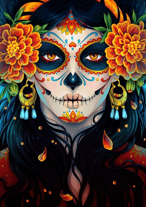 Colorful-Detailed-Portrait-illustrator-photoshop