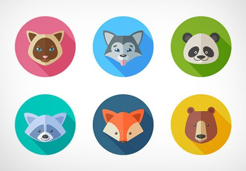 Flat-Animal-Icons-Adobe-Illustrator-Tutorial