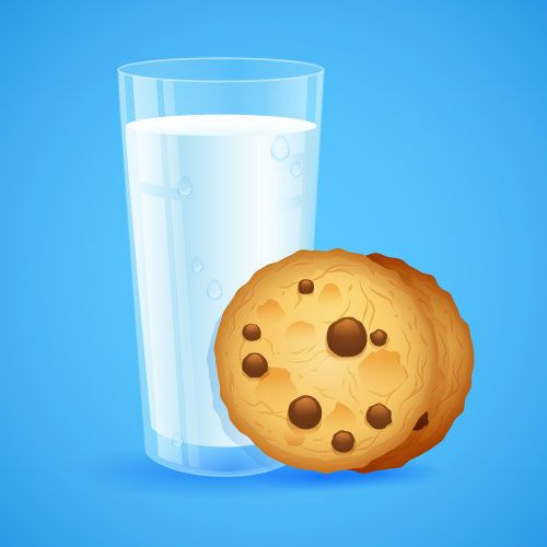 Milk-Cookies-Illustrator-tutorial